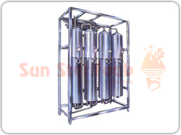 Multi Column Distilled Water Plant.